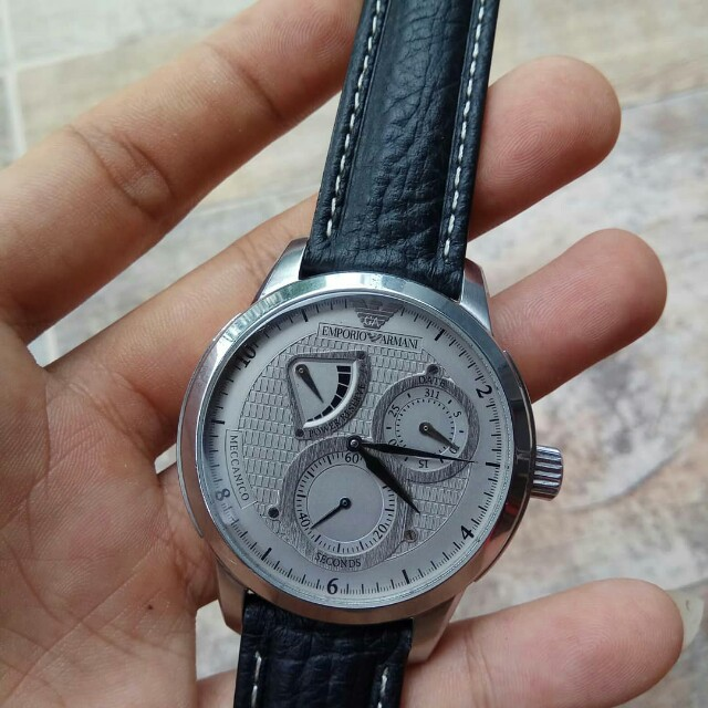 Jam tangan emporio armani,automatic