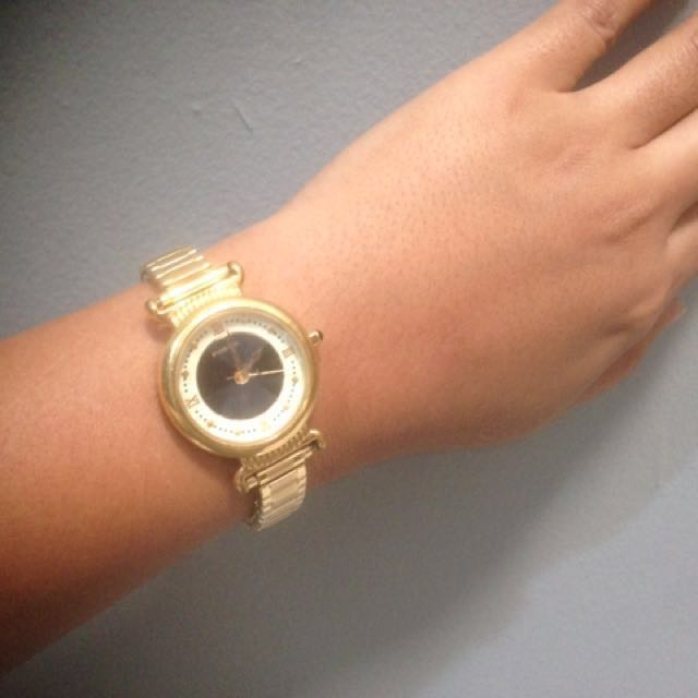 Jam Tangan Wanita Fossil Gold Authentic