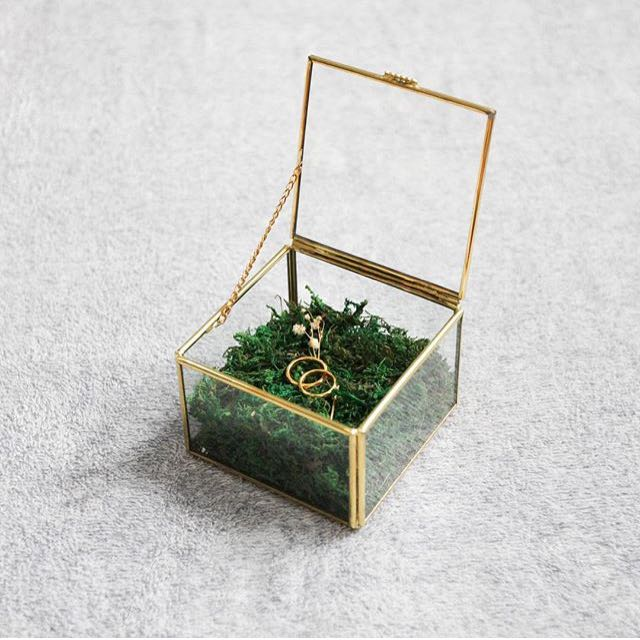 Jewelry Box Brass