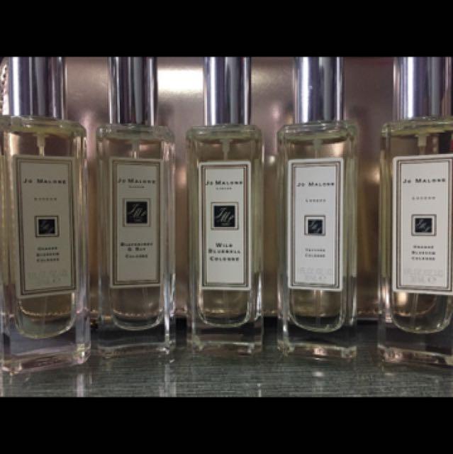 Jo Malone perfume cologne