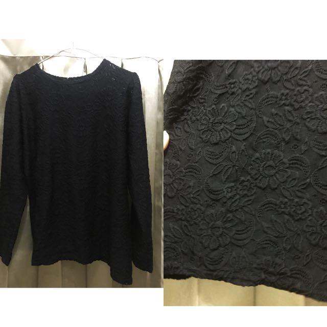 Kaos hitam
