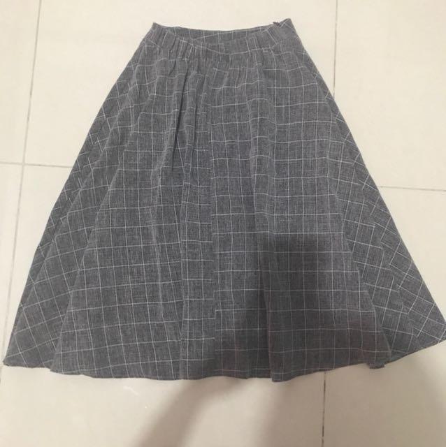 Kashieca plaid skirt