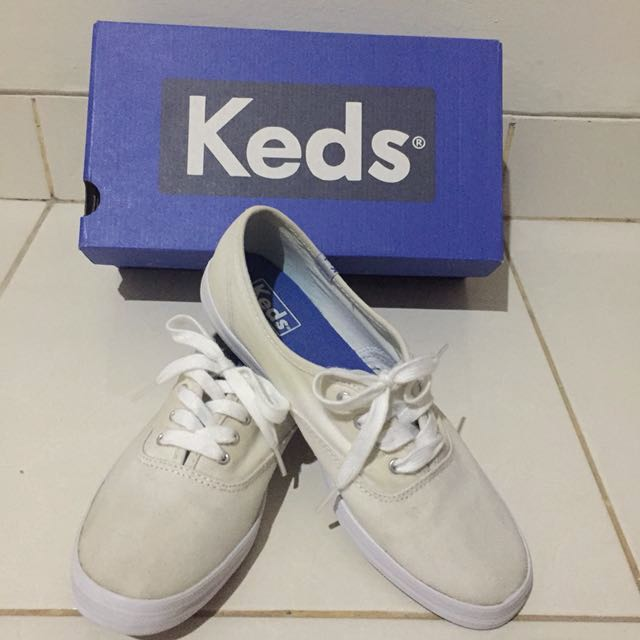 Keds Champion White Canvas