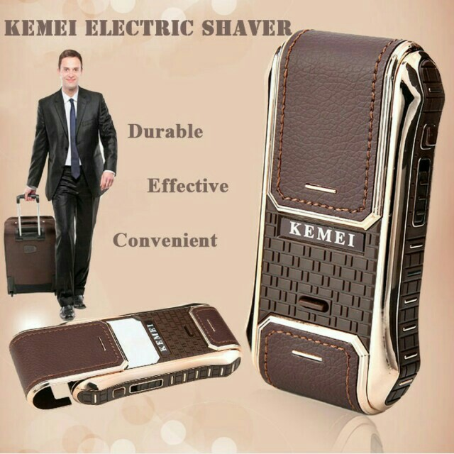 Kemei Electric shaver 電動刮鬍刀#幫你省運費#Free Shopping