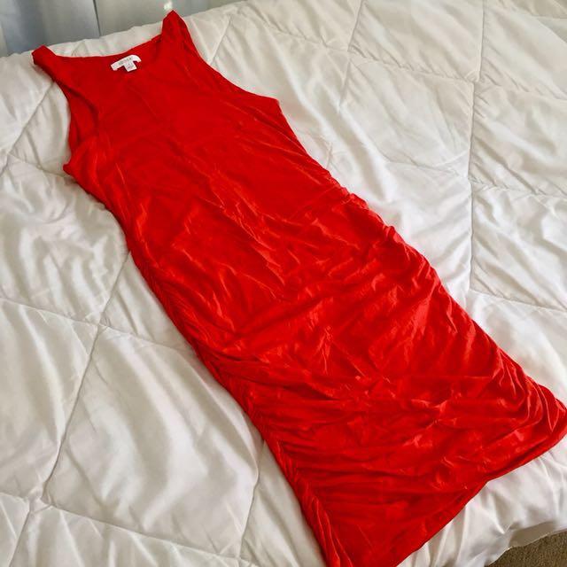KOOKAI Coral Midi Dress
