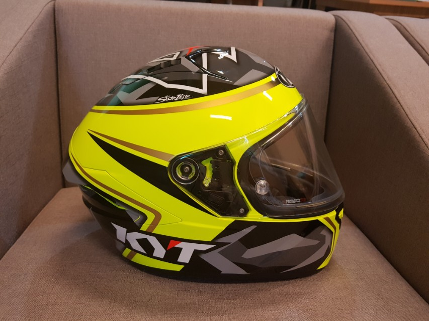 KYT Full Face Helmet Motorbikes Motorbike Apparel On Carousell
