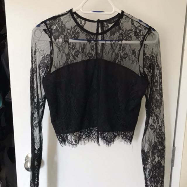 Lace top size 8
