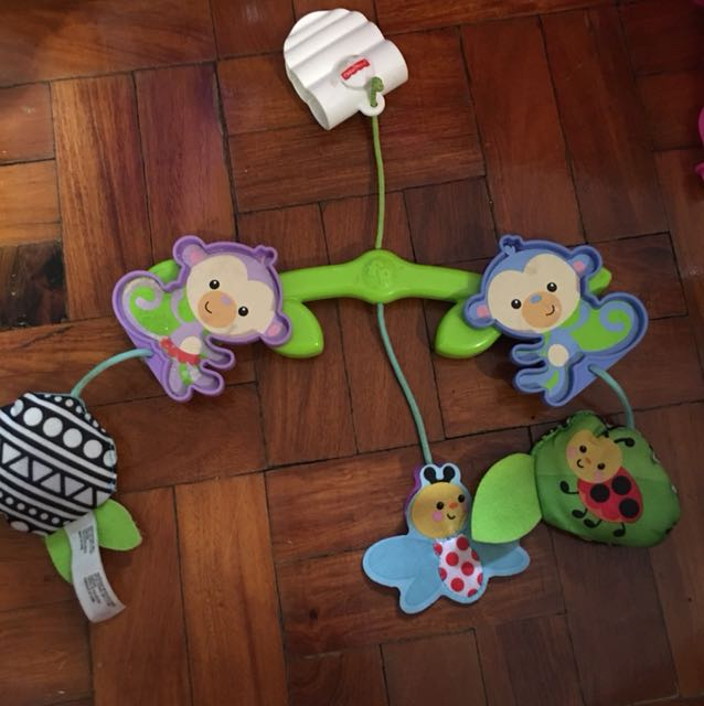 Leap frog crib decor, Babies & Kids, Toys on Carousell