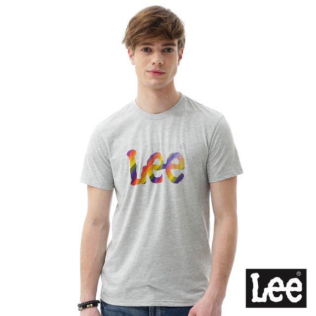 Lee彩虹棉T恤