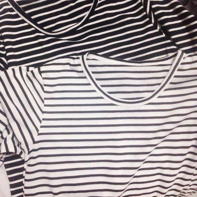 Long stripe tee