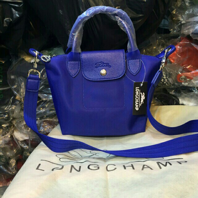 Longchamp xxs mini neo slempang