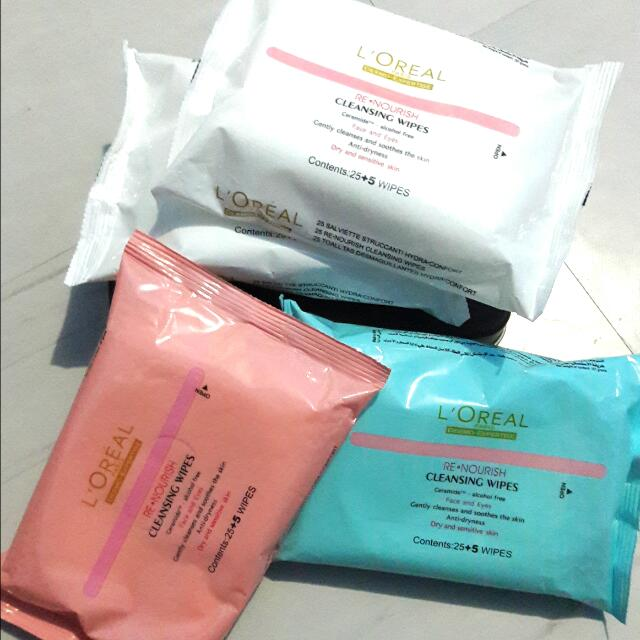Loreal Makeup Remover Wipes