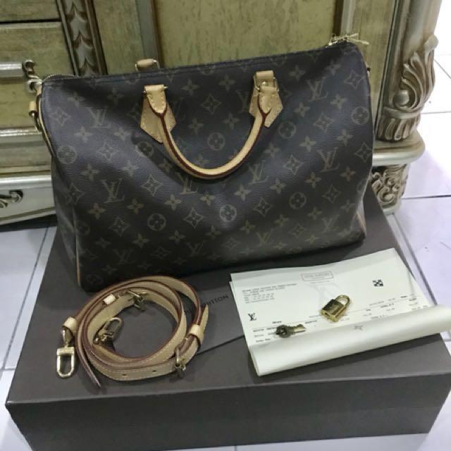 Louis Vuitton Speedy B 35 (LV Speedy B35)
