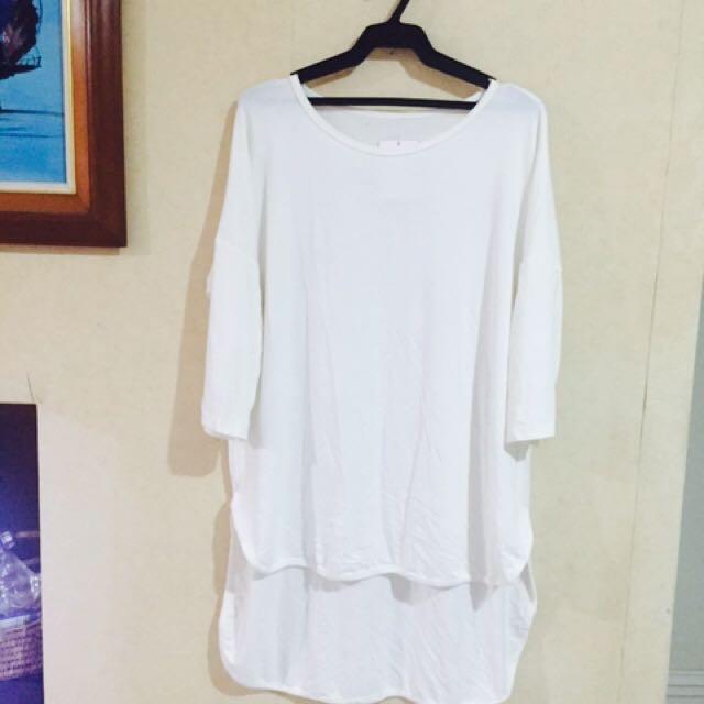Low back blouse