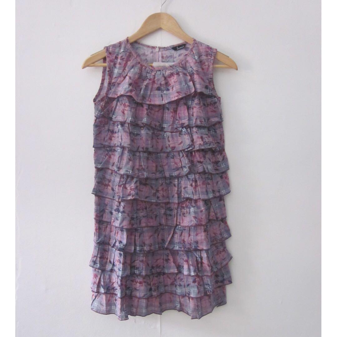 Lumix Purple Dress