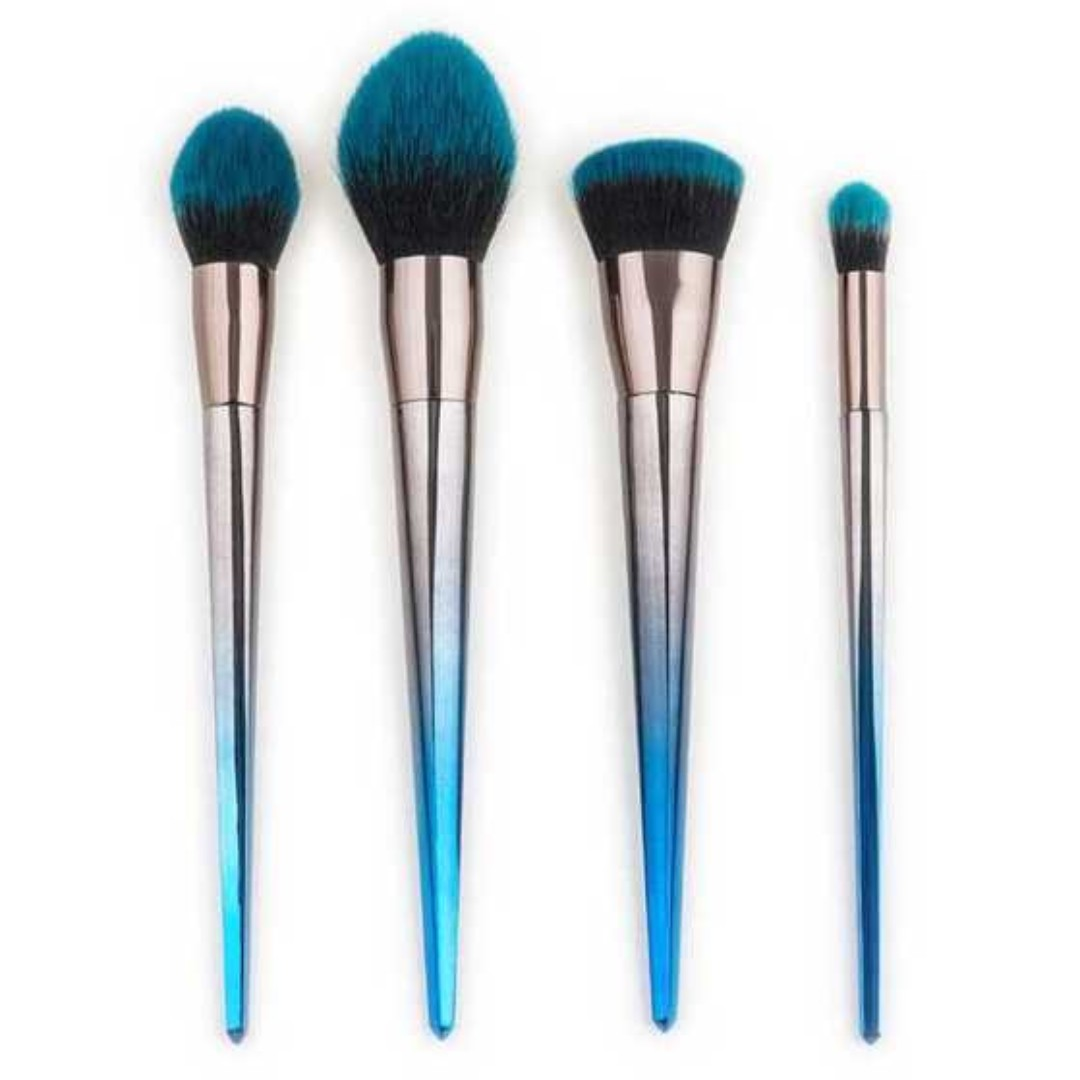 Make Up Brush Model Diamond Shape 4PCS