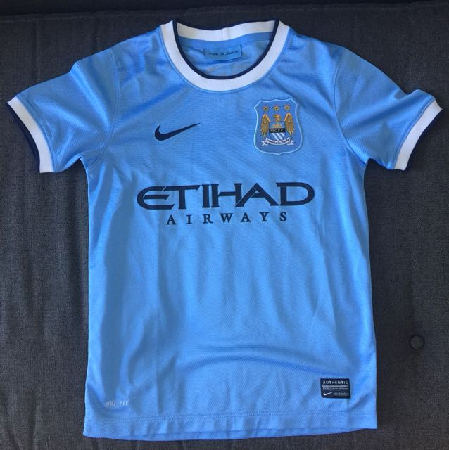 free shipping ba40c a1622 Man City Jersey, Sports, Sports Apparel on Carousell