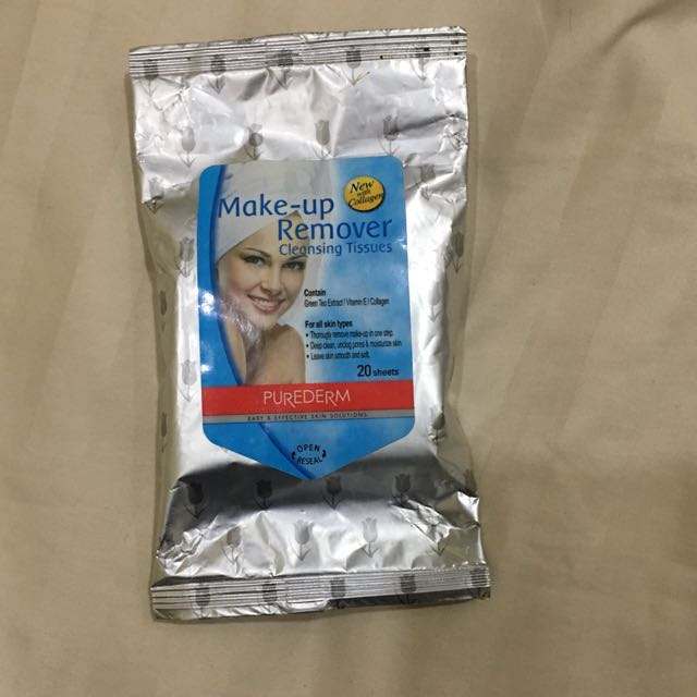 #maucolourpop Make up Remover Tissues
