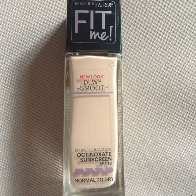 Maybelline Fit Me (Dewy + Smooth)