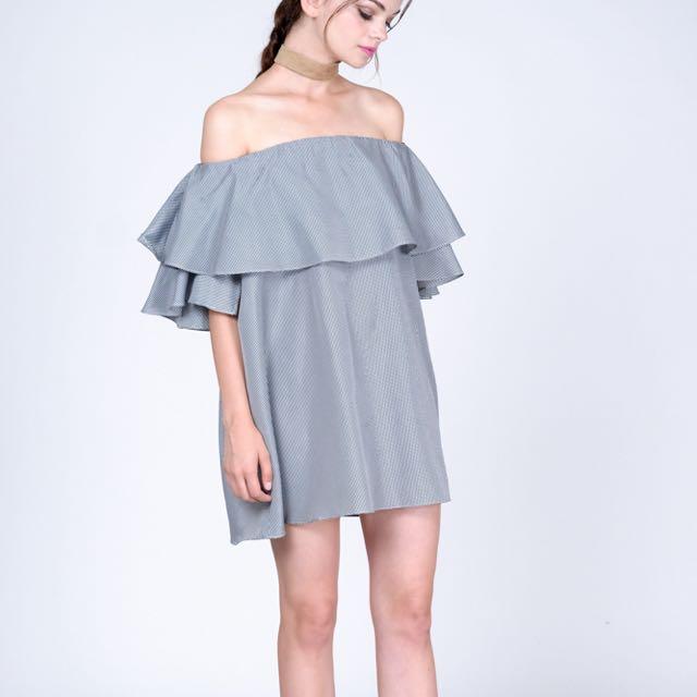 MDS Camilla Dress in Checkered