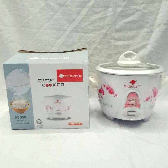 Micromatic rice cooker MRC-3