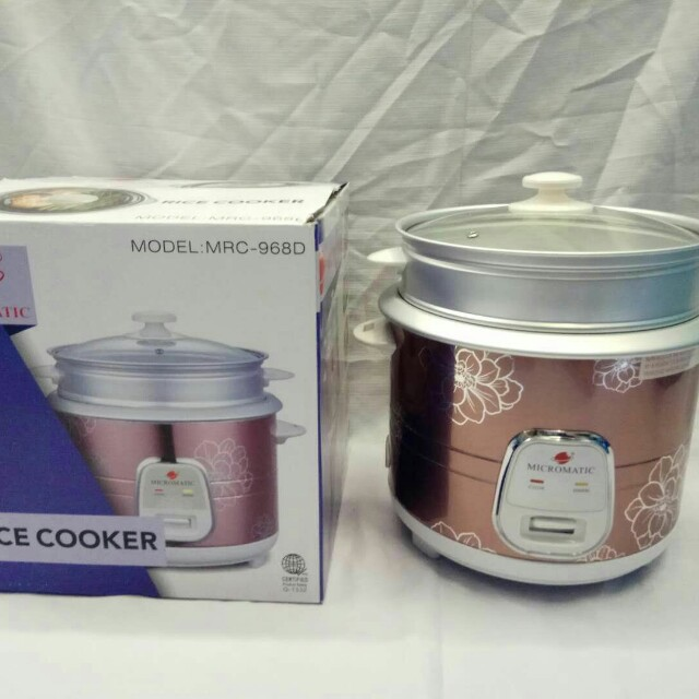 Micromatic Rice cooker MRC-968D