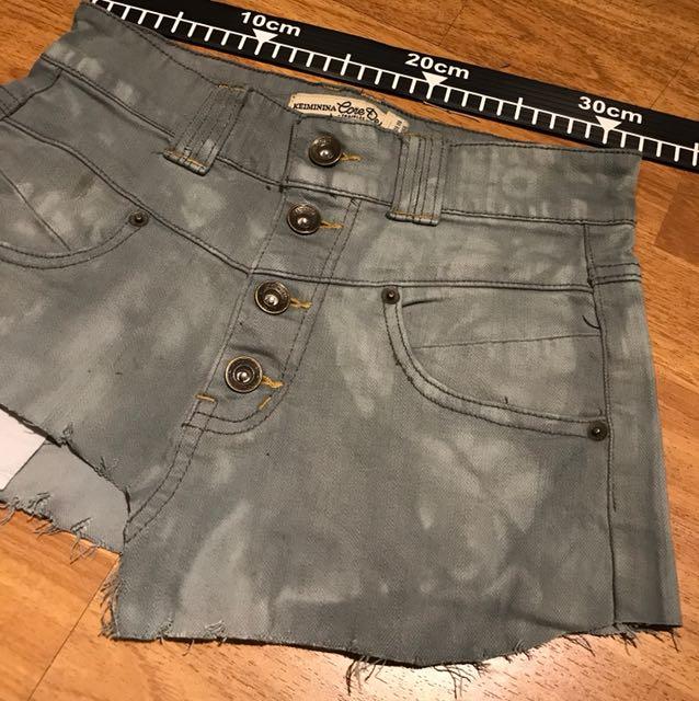 mini skirt ripped jeans