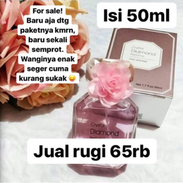 Miniso crystal diamond parfume