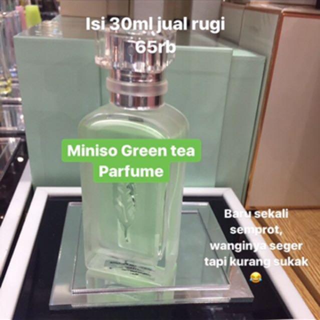 Miniso green tea parfume