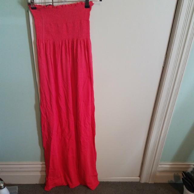 Miss Selfridge tube maxi dress - Size 8 uk