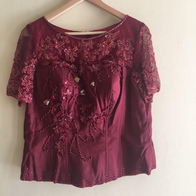 Moms Gown Gaun Pesta Dress 1 Set
