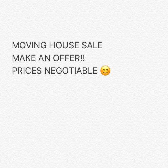 Moving house sale - range of appliances available