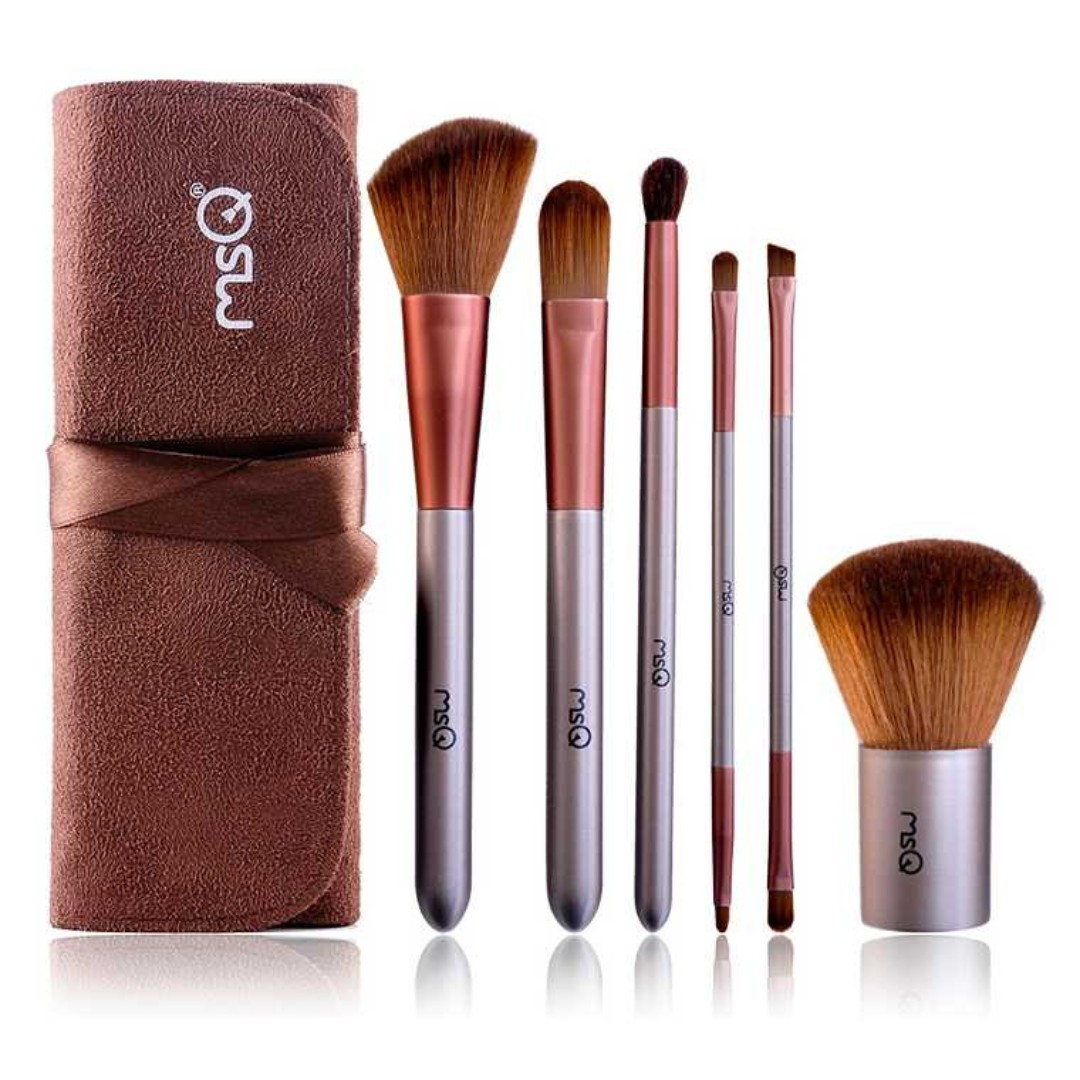 MSQ Make Up Brush Model Kabuki 6PCS