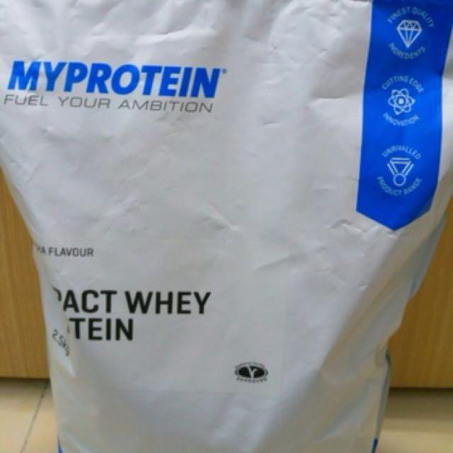 myprotein 抹茶口味乳清 可議