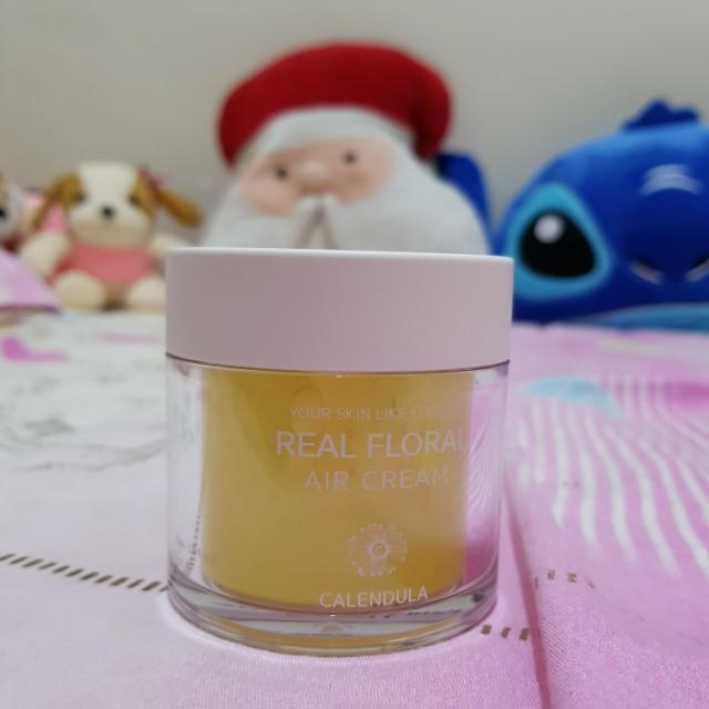 Natural Pacific Real Floral Air Cream Calendula