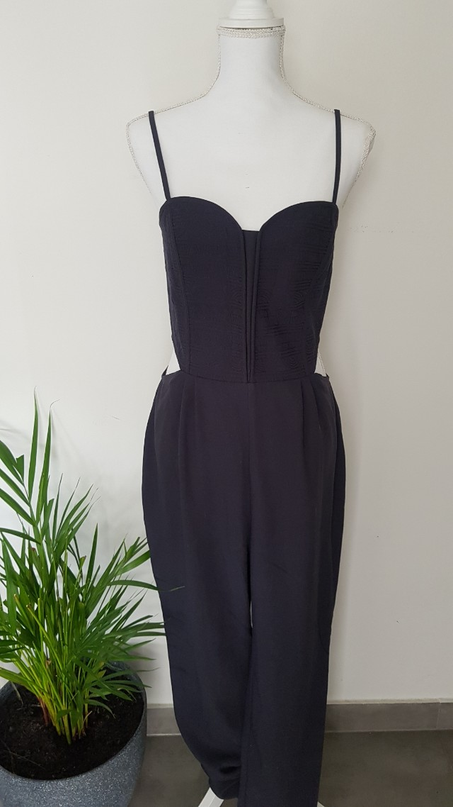 H&M Navy Jumpsuit