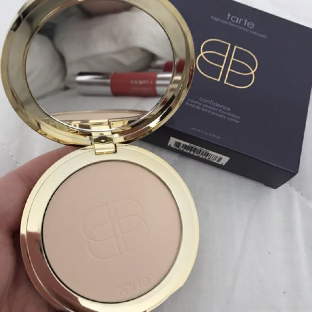 New - Tarte creamy powder foundation