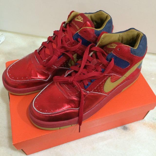 超Nike 限量Delta Force Mid Premium 10.5 Uk9.5 Cm28.5