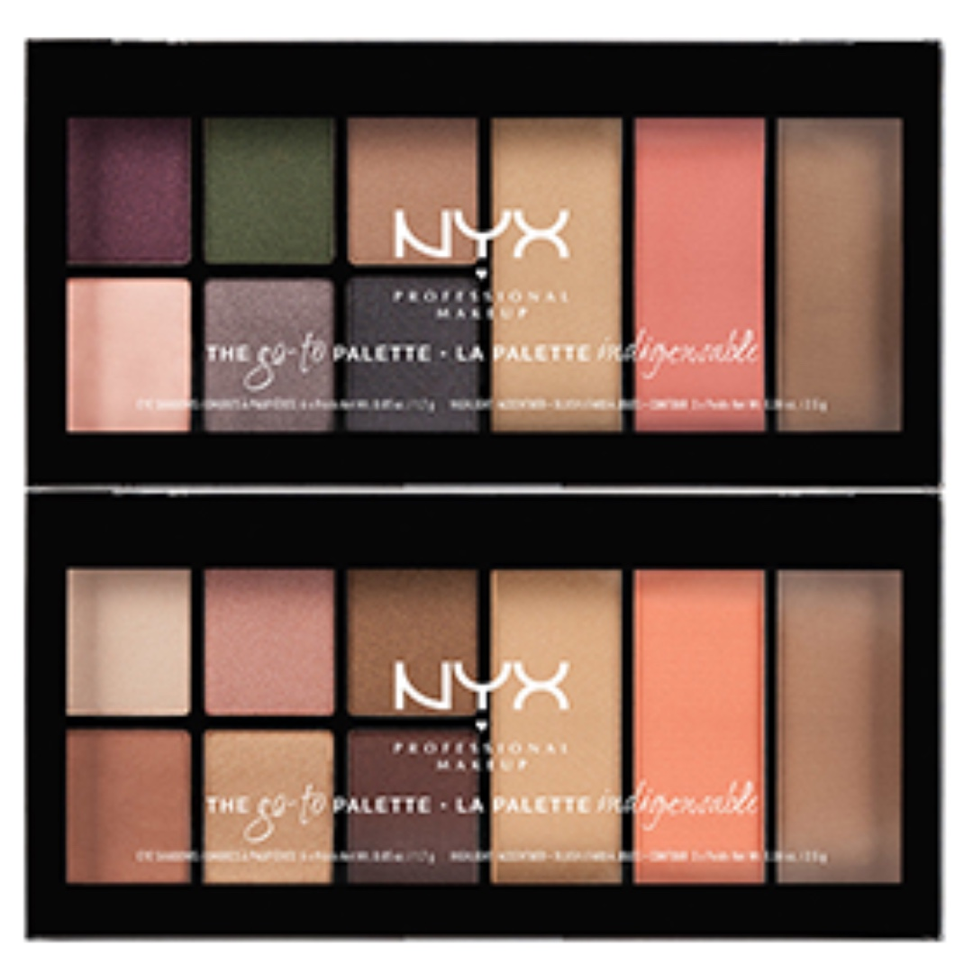 NYX Professional Makeup Go-To Palette || Wanderlust ||, Health & Beauty, Makeup on Carousell