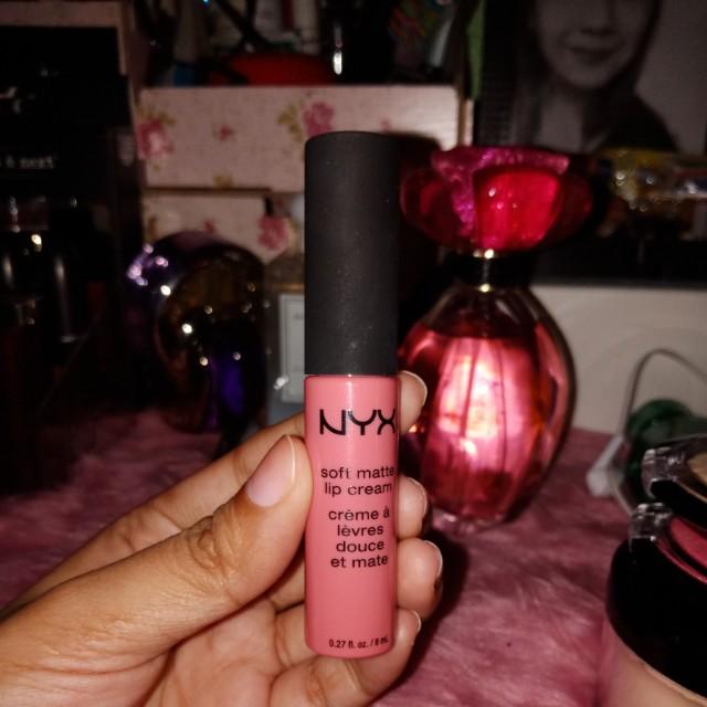 Nyx soft matte lip cream full size