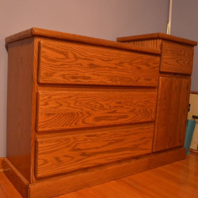 Oak Dresser/change table