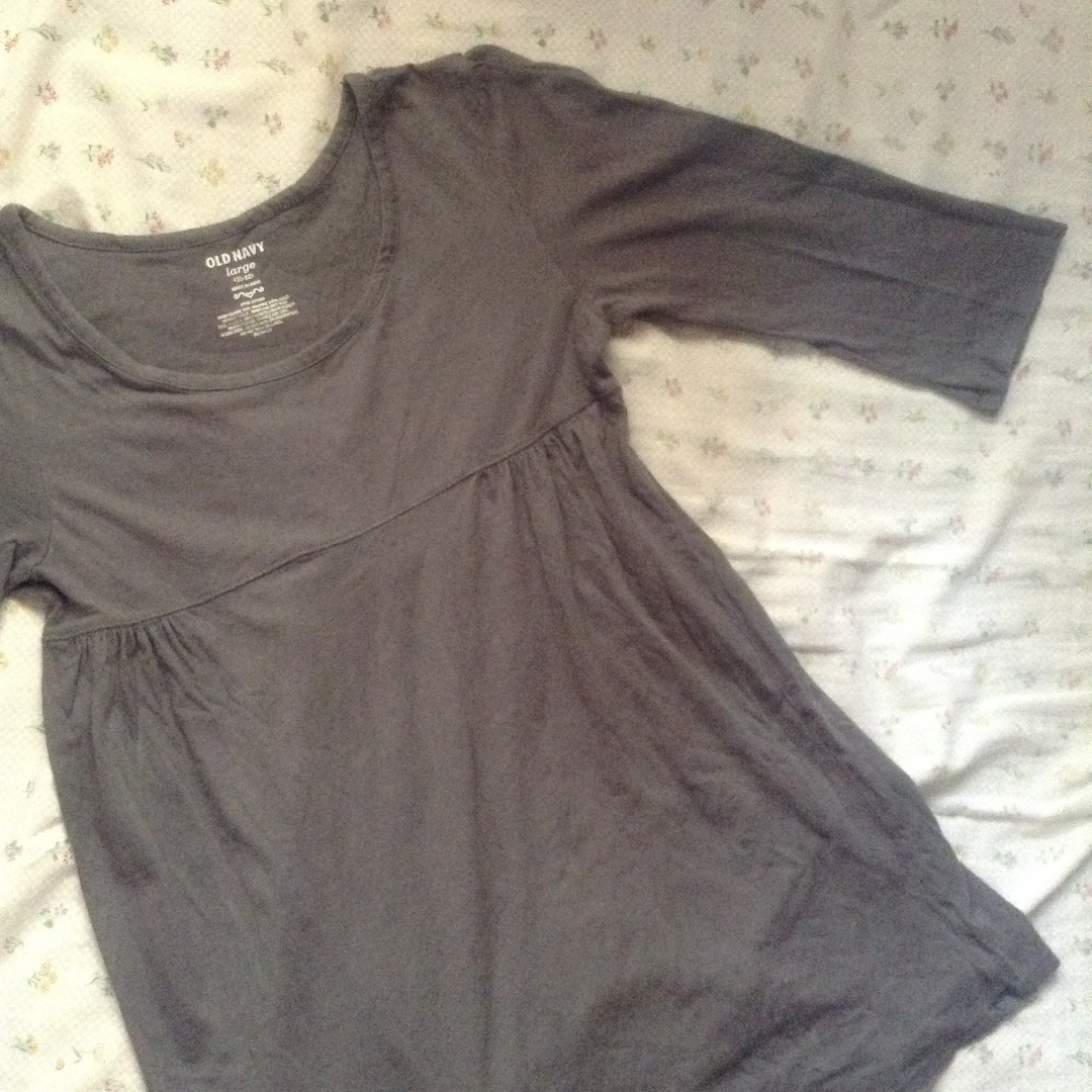 Old Navy Gray Blouse
