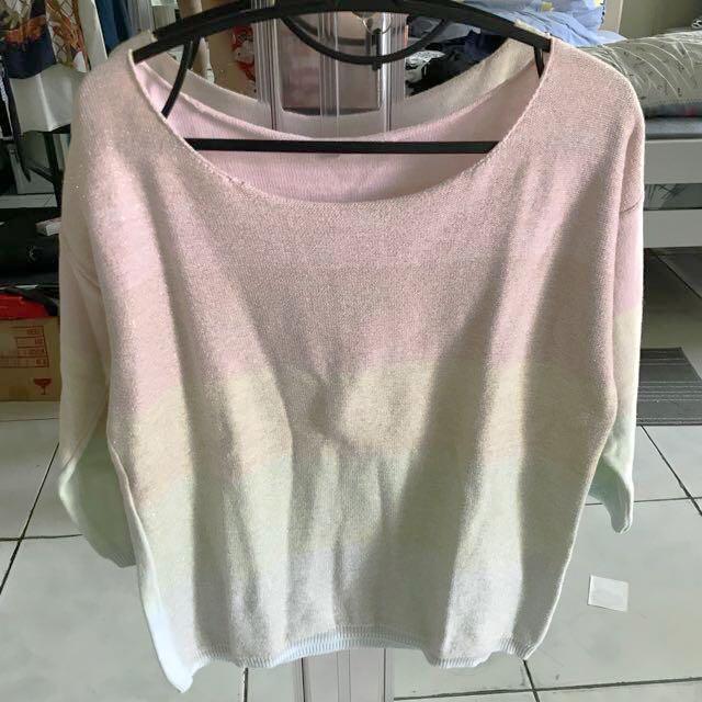 Pastel Sweater (sabrina)