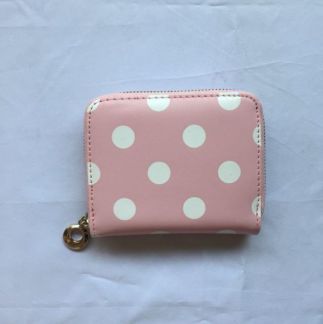 Pink Polka Dots Wallet