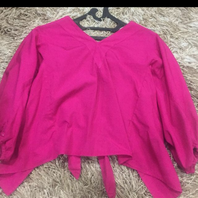 PLAYING VICTIM seller Zara pink top