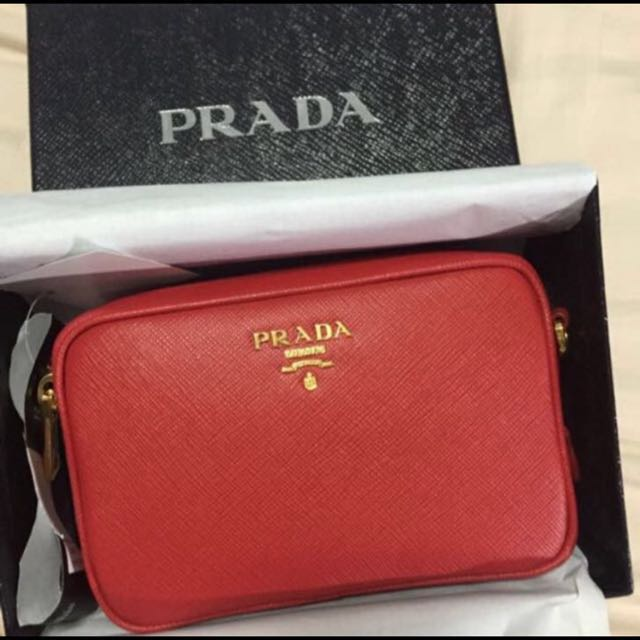 1382c08b369a Prada mini saffiano crossbody, Women's Fashion, Bags & Wallets ...