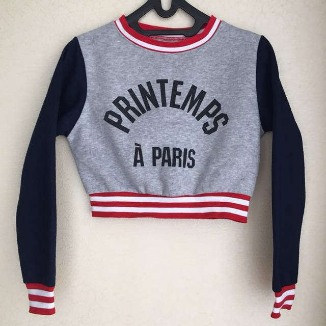 Preloved Sweater Crop