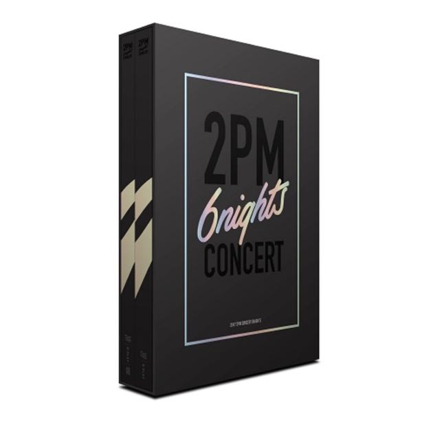 [Pre-Order] 2PM - 2017 CONCERT '6NIGHTS' DVD