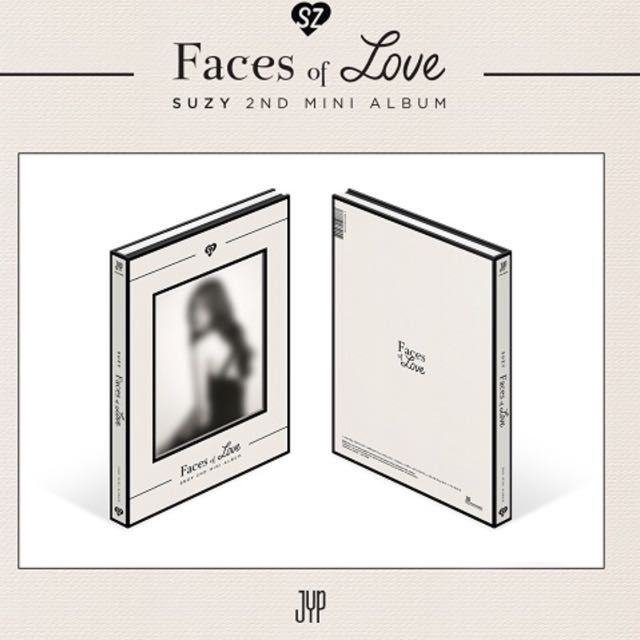 [Pre-Order] SUZY - FACES OF LOVE