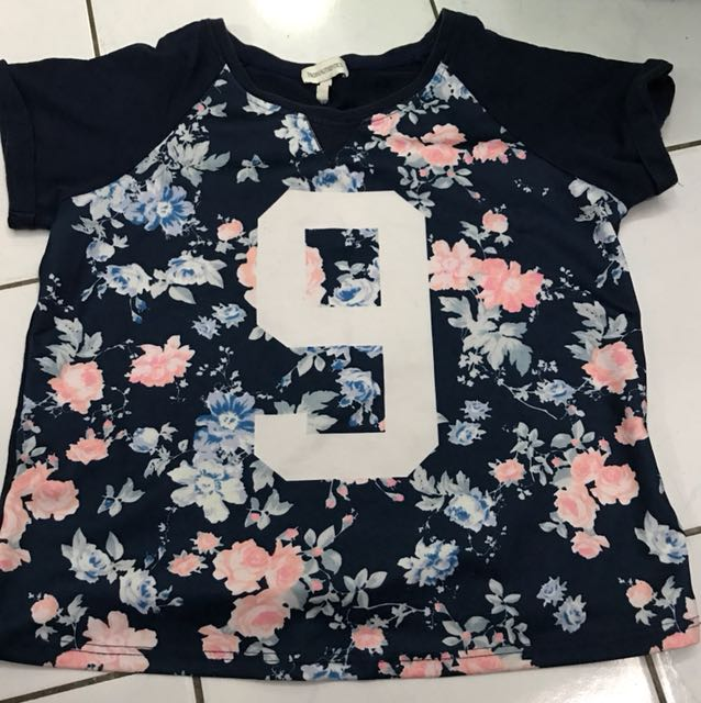 Preowned Padini Authentics Flower Top